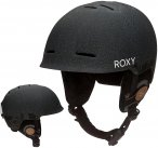 Roxy Avery Helmet true black_floral herring Gr. 58