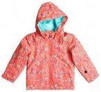 Roxy Mini Jetty Jacket Girls neon grapefruit_foxes Gr. T03