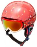 Roxy Misty Pack Goggle Helmet Youth neon grapefruit_foxes Gr. 52