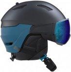 Salomon Driver Visir Helmet ombre blue / hawaiian surf Gr. S