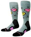 Stance Candy Park Tech Socks grey Gr. M