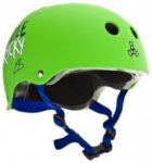 Triple 8 Little Tricky Brainsaver Helmet Youth green rubber Gr. Uni