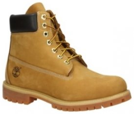 "Timberland 6"" Premium Shoes wheat nubuck Gr. 10.0 US"