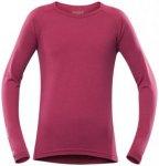 Devold Breeze Junior Shirt raspberry/16 Jahre
