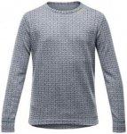 Devold Islender Junior Shirt grey melange/12 Jahre