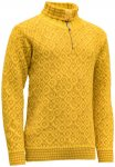 Devold Svalbard Sweater Zip Neck cyber/arrowwood/XS
