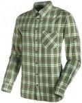 Mammut Belluno Longsleeve Shirt  seaweed/sherwood/M