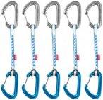 Ocun Kestrel QD DYN 8 5er pack blau/Wire Gate/Wire Gate 15 cm