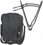 Ortlieb Single-Bag QL3 + Tubus Minimal QL3 - 2.Wahl schwarz/12 Liter