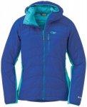 Outdoor Research Cathode Hooded Women's Jacket baltic/typhoon/S