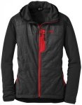 Outdoor Research Deviator Women's Hoody black/flame/S