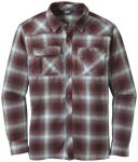 Outdoor Research Feedback Flannel Shirt black/redwood/L