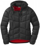 Outdoor Research Sonata Ultra Hooded Women's Down Jacket black/flame/M
