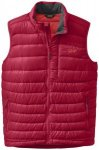 Outdoor Research Transcendent Down Vest agate/hot sauce/M