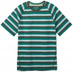 Smartwool Men's Merino 150 Baselayer Short Sleeve pacific stripe/M