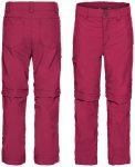 Vaude Kids Detective ZO Pants II crimson red/134/140