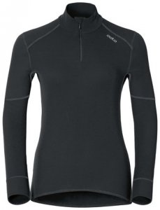 Damen Shirt l/s turtle neck 1/2 zip X-WARM , Odlo , XL