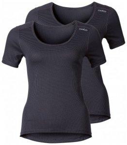 Damen Shirt s/s crew neck CUBIC 2er Pack , Odlo , XL