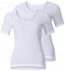Damen Shirt s/s crew neck CUBIC 2er Pack , Odlo , S