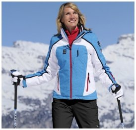 Damen Wintersportjacke Cara , Icepeak , 42