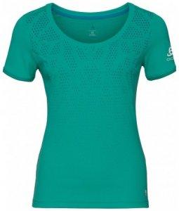 Damen T-Shirt Crew neck KUMANO F-DRY Print , Odlo , XL