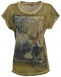 Damen T-Shirt Ramolkogel , Almgwand , XS