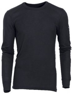 Herren Shirt l/s crew neck WARM , Odlo , 3XL