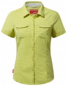 NosiLife Damen Adventure Short Sleeved Shirt , Craghoppers , 40