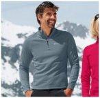 Herren Stand-up collar 1/2 zip STRETCH FLEECE , Odlo , XXL