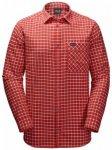 Herren Langarmhemd Fraser Island Shirt , Jack Wolfskin , L