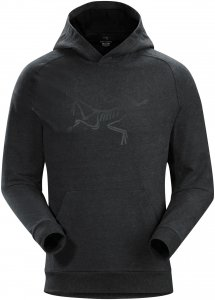 Arcteryx Archaeopteryx Pullover Hoody Shirt Men - Kapuzen Sweatshirt - new black heather - Gr.M