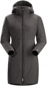 Arcteryx Darrah Coat Women - Damen Wintermantel - carbon copy grey - Gr.L