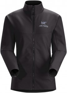 Arcteryx Gamma LT Jacket Women - Winddichte Softshelljacke - black - Gr.M