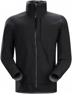 Arcteryx Interstate Jacket Men - Regenjacke mit Kragenkapuze - black - Gr.M