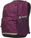 Bergans 2GO 32L - Tagesrucksack für Kinder - plum violett square