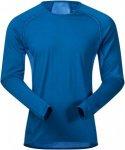 Bergans Barlind Shirt Men - Netz Unterwäsche aus Merinowolle - ocean light blue