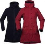 Bergans Bjerke 3in1 Lady Coat - Mantel / Doppeljacke - burgundy red/dark navy -