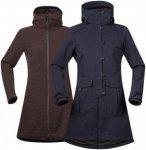 Bergans Bjerke 3in1 Lady Coat - Mantel / Doppeljacke - dark navy blue/cocoa - Gr