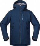 Bergans Haglebu Insulated Jacket Men - Warme Wintersportjacke - dark steel blue/