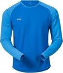 Bergans Slingsby Long Sleeve Shirt Men - Langarmshirt - athens hellblau - Gr.L