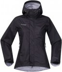 Bergans Super Lett Lady Jacket - Wasserdichte Damen Outdoorjacke - black - Gr.L