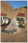 Brettschneider Fine Mesh Pyramide - Mückennetz als Pyramide - Big: 250x250x230c