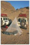 Brettschneider Fine Mesh Pyramide - Mückennetz als Pyramide - Single: 100x200x2