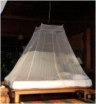 Cocoon Moskitonetz Travel Net Double Ultralight - Pyramiden-Indoornetz für zwei