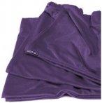 Cocoon Reisedecke Travel Blanket - Coolmax Microfaser - eggplant violett