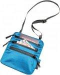 Cocoon Secret Neck Wallet Silk - Brustbeutel aus Seide - medium lagoon hellblau