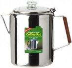 Coghlans Edelstahlkanne Coffee Pot - Kaffeekanne / Wasserkessel - 12 Tassen