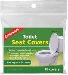 Coghlans Einweg Toilettenauflagen aus Papier - 10 Stück - Toilettenauflagen - 1