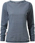 Craghoppers NosiLife Erin Langarm Top Stripe Women - Longlseeve - night dark blu