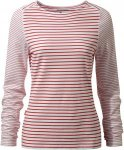 Craghoppers NosiLife Erin Langarm Top Stripe Women - Longlseeve - red/white stri